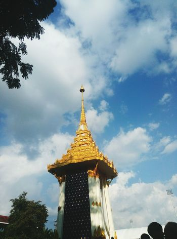 Kingrama9 Lampang | Thailand No People Gold Cloud - Sky Outdoors Sad Day