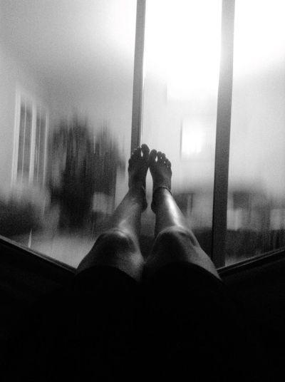 Legs Effect Vitesse Blackandwhite Hamac