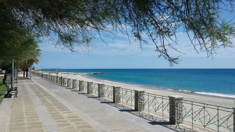 The Purist (no Edit, No Filter) Calabria (Italy) Sea View Ionian Coast Crystal Clear Waters Turqouise Water Promenade De La Mer Marina Promenade Sea And Sky Sea Side My Best Photo 2015