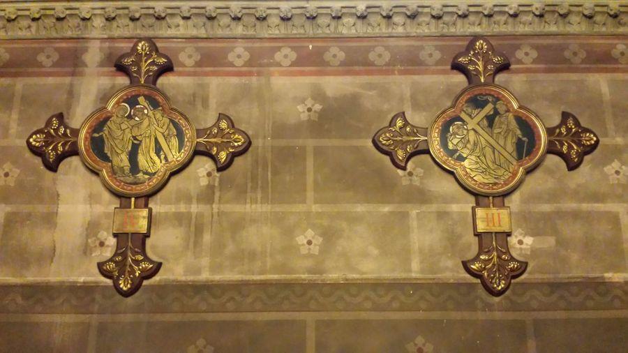 Voiron Eglise ND De Vouise Isere  Chemin De Croix