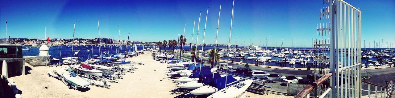 Panorama na Marina de Cascais