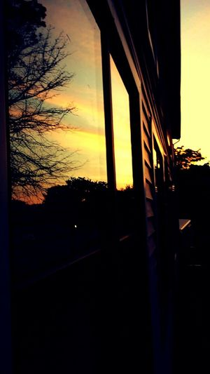 Sunset reflection First Eyeem Photo