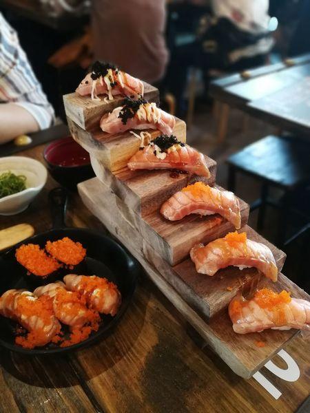 Food And Drink Food Sweet Food Close-up Ready-to-eat Sushi Sashimi Sushi Sushi Stairs