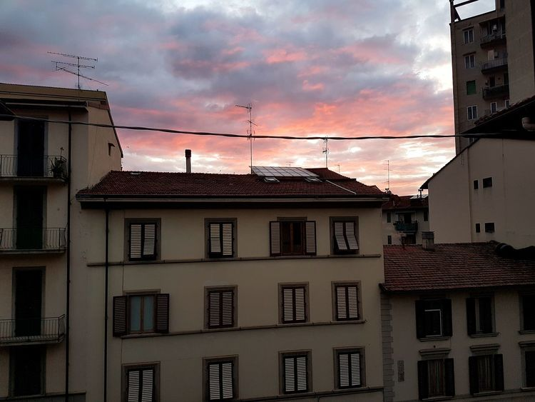 Sunset Building Exterior No People Architecture Sky Outdoors City Bird Day Firenze, Italy Italy Firenzemadeintuscany Firenze Italia Firence