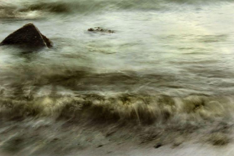 Pushed by the Wind   Being A Beach Bum Motion Blur Sea EyeEm Best Shots