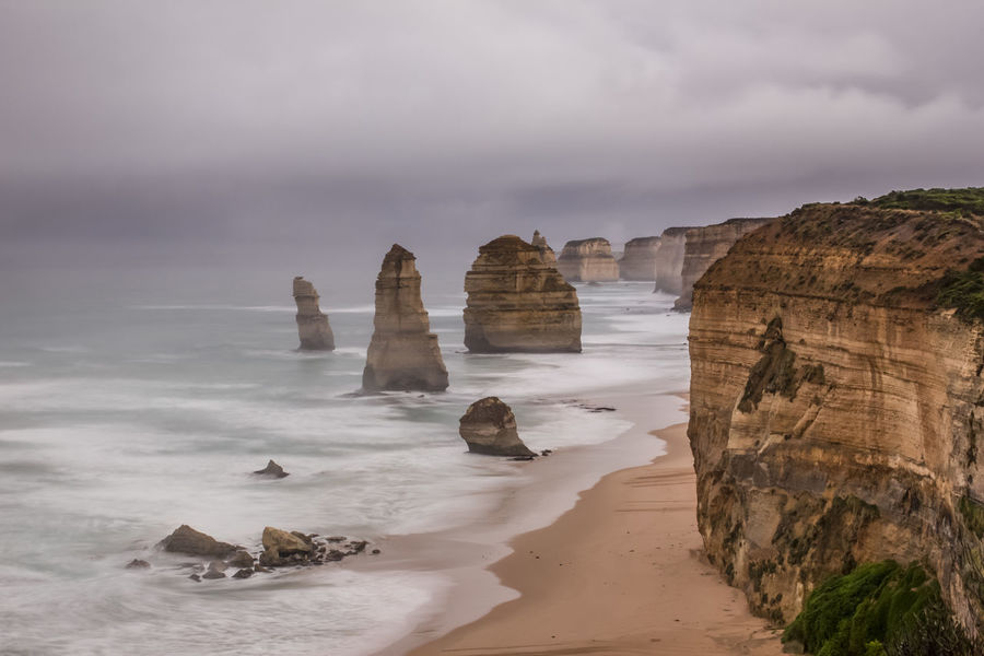 12 Apostles Australia Beach Beachphotography Beauty In Nature Cloud - Sky Nature Ocean Rock Rock Formation Scenics Shore Sightseeing Sky Stone Travel Destinations Twelve Apostles Photography In Motion Landscapes With WhiteWall The KIOMI Collection The Great Outdoors With Adobe The Great Outdoors - 2016 EyeEm Awards Lost In The Landscape