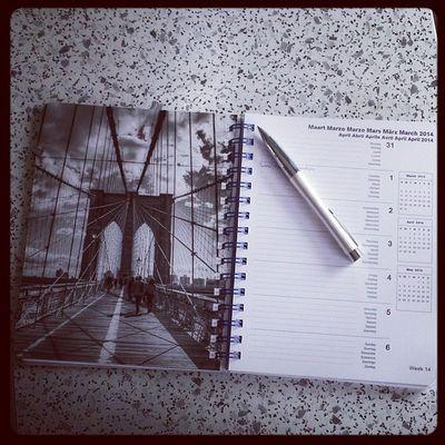 Mein heißgeliebter Timer Winter2014 Januar Ichgradso newyorkcity newyork usa planer calendar kalender