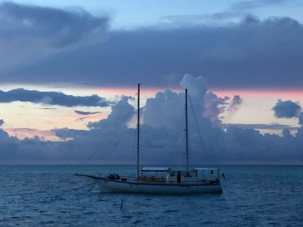 Sea Sky Nautical Vessel Cloud - Sky Water Transportation Mode Of Transport Nature Boat Waterfront Beauty In Nature Horizon Over Water Sailboat Sailing Boat Maldives