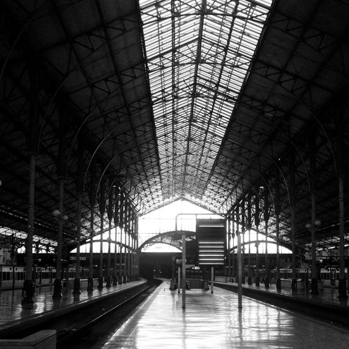 Train Trainstation Trains Train Tracks Trainrail Station Estação Do Rossio Garederossio Gare Comboio