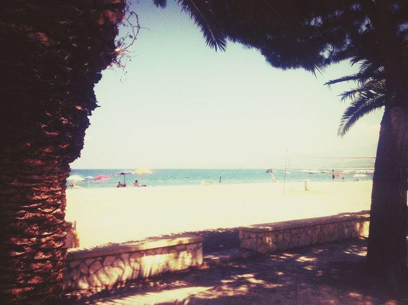 Sol #sun #playa #beach #mar #sea #puestadesol #atardecer #sunset Sun