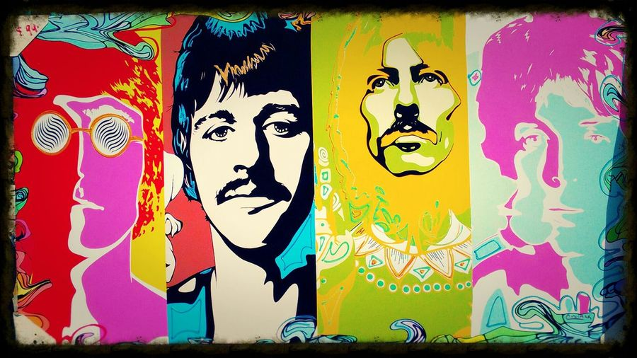 The four The Human Condition Abstract Design Music Art Peace, Human Face