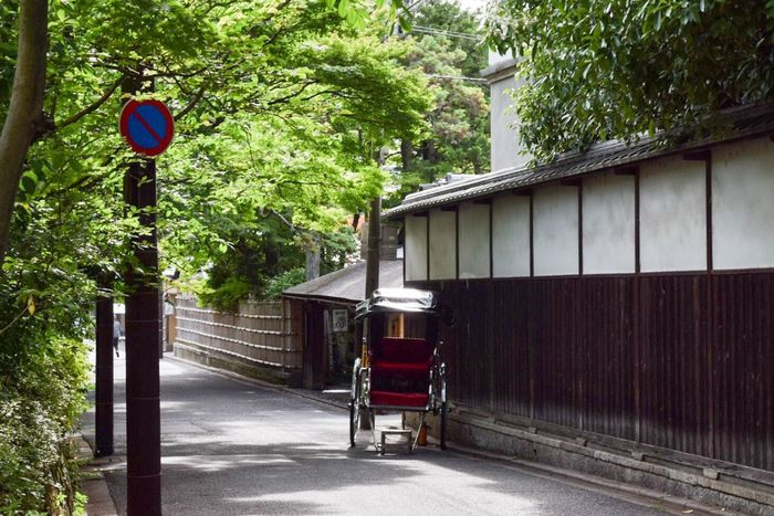 It's not easy. But it's a simple.だから、目の前のことをやるだけ。 京都 Japan Summer 夏 人力車