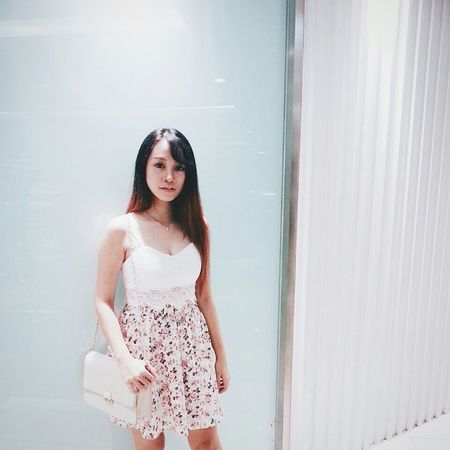OOTD♥ Outfit OOTD Ootdshare Nice Matching Check This Out That's Me EyeEm Malaysia Asian Girl Ladyphotographerofthemonth Young Girl