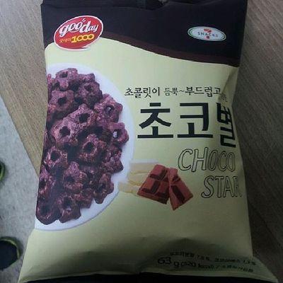 suer.. bikin nagih Chocolate Snack  초코별 Delicious