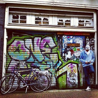 Amsterdam Amsterdam Netherlands Birthdaycelebrations Meandmyman lovethisplace graffiti street streetphotography