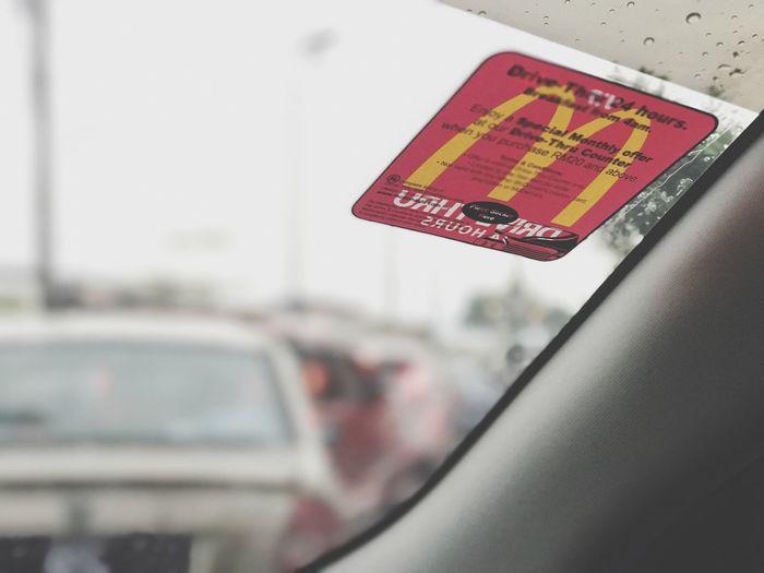 McDonald DriveThru Queue McFlurry  Oreo