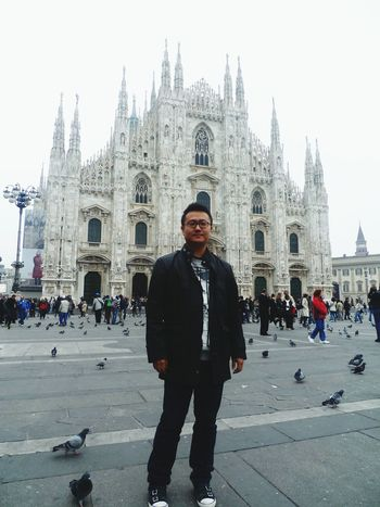 밀라노 두오모 성당(Duomo di Milano) Travel Selfportrait Hello World Me