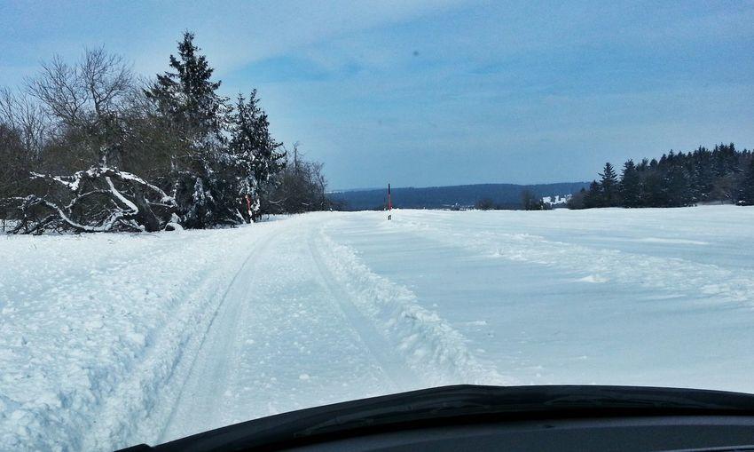 On The Road Winter Winter Wonderland