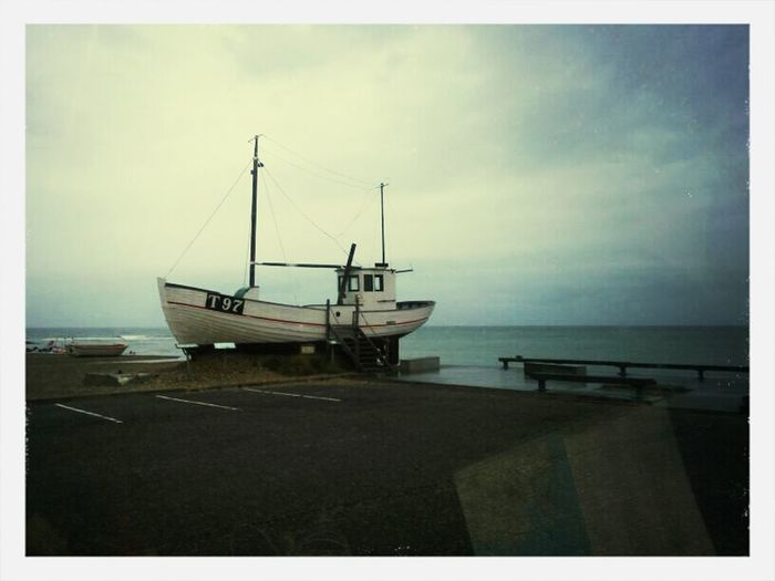 Dänemark Am Meer Und Boot