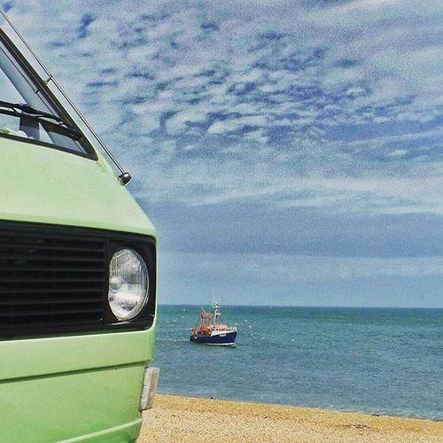 Campervan VW Vwcampervan T25 Vanagon Slaptonsands Devon