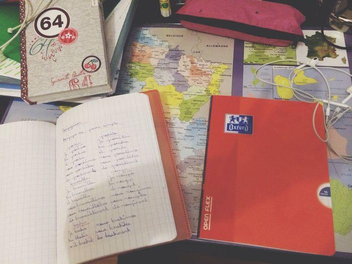 Il faut que je recommence mon cahier de brouillon!! RAHH, j'en n'ai marre j'ai envie de changer d'école!! :(