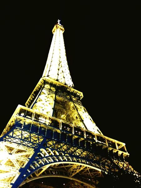 Paris ❤ La Tour Eiffel🗼 Souvenirs Last Trip Love ♥ Night Night Lights Mystical
