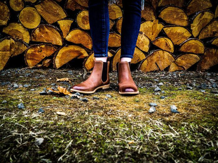 Men Shoe Grass
