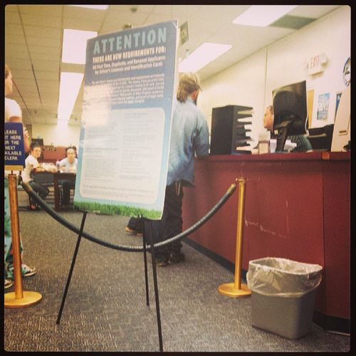 Mostevilplaceonearth DMV