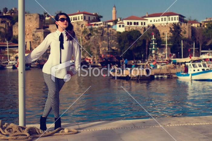 Antalya Ship Istockphoto Canon