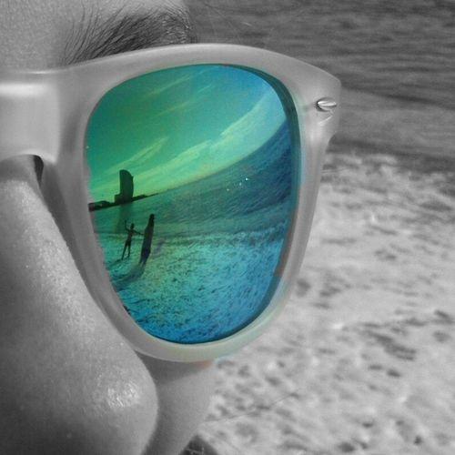 W..reflections in sun glasses Eyem Best Shots Eyembarcelona Bcnlove Beach