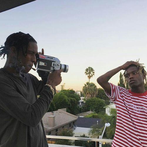 A$AP Rocky & Ian Connor Street Fashion Streetstyle Urbanstyle Urban Fashion Braids Dreadlocks Model Aesthetics Gorgeous Photography Fashion Mensfashion