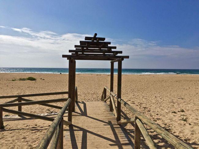 Tarifa Andalucía Spagna España Taking Photos Relaxing 2K15 Vacanze Holiday Spiaggia Desert - relax in riva al mare