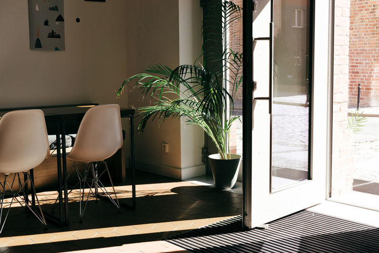 Architecture Day Door Home Interior House Indoors  Light And Shadow No People Plant Shadow
