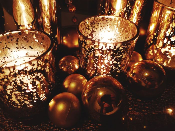 Christmas Gold Colored Christmas Decoration Shiny first eyeem photo