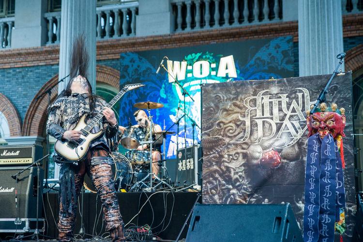 施教日乐队 Ritual Day playing at WOA Metal Battle 2016 Asian Music Asian Musician Chinese Muscian Chinese Music Concert Concert Photography Guitar Guitarist Guitarist Rock Music Heavy Metal Live Music Music Musician Ritual Day Rock Music
