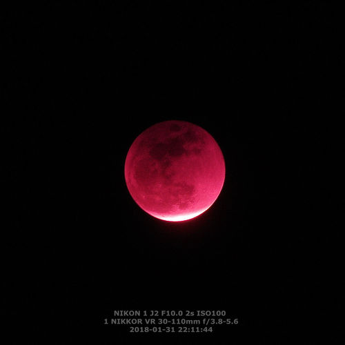 Astronomy Photography Astronomy Red Moon Red Color Red Mouth Red Light Moon Surface Full Moon Planetary Moon IR Infrared Lunar Eclipse Lunar Eclipse / IPhoneography Shanghai, China Infrared Photography Lunar Eclipse 2018 Lunar Eclipse January 31'st 2018 Moon Night Outdoors Sky