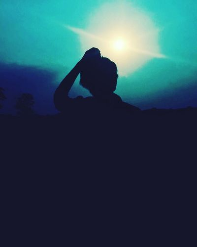 Human Hand Sky Nature One Person Sunlight ☀ Shadow Beauty In Nature Freshness Outdoors United Kozhikode