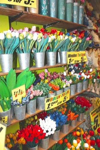 Arrangement Choice For Sale In A Row Large Group Of Objects Market Market Stall Multi Colored No People Price Tag Retail  Shop Store Street Market Tulip Variation Your Amsterdam