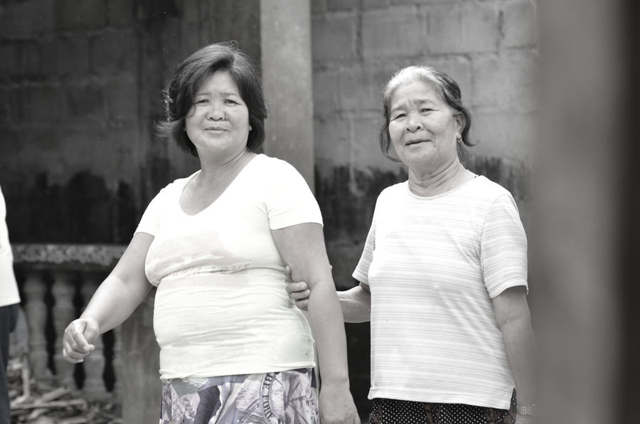 Adult Black And White Daughter Day Family Forever Hard Working Like Mother Like Daughter Lola Love Mother Mother And Daughter Mothers Outdoors Parents People Portrait Senior Smiling Togetherness Two People Walking