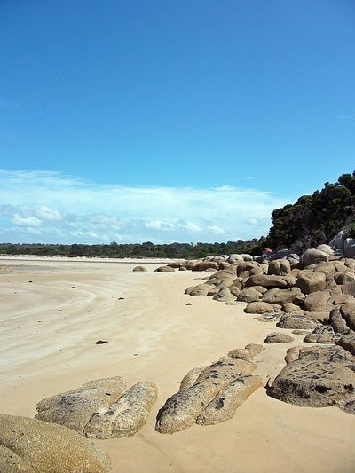 Arid Climate Beach Beauty In Nature Blue Day Landscape Nature No People Non-urban Scene Outdoors Sand Scenics Sky Tasmania Tranquil Scene Tranquility