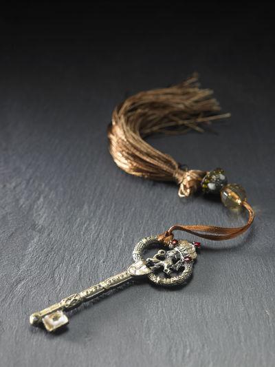 antique key Antique Black Background Objects Retro Security Brass Close-up Indoors  Jewelry Key Key Of Success Metal No People Old Secret Studio Shot Success Tassel Vintage