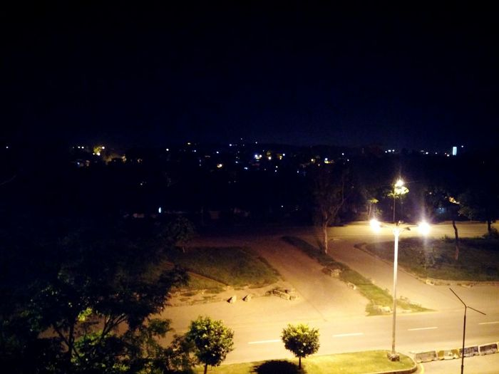 The dark side of Islamabad Pakistan First Eyeem Photo Clouds And Sky Pakistan Islamabad Beautiful View Trees And Nature Beautifulnights