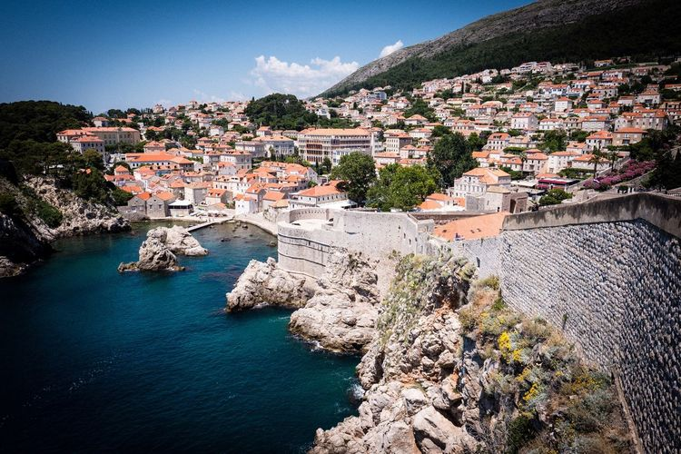 Dubrovnik Dubrovnik Dubrovnik, Croatia Architecture Built Structure Building Exterior Water Nature City Sky Building Outdoors Town Cityscape