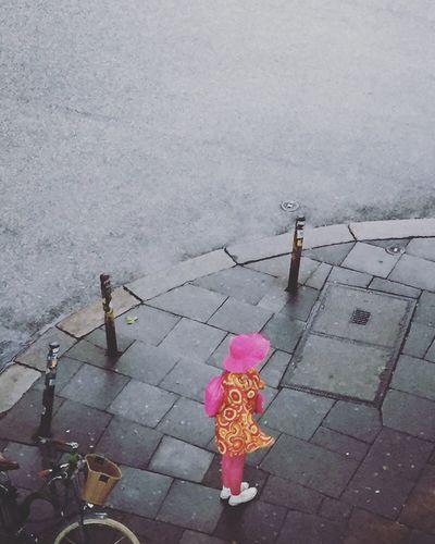 """""""Ich mache mir die Welt, wie sie mir gefällt!"""" Fashion Schlagermove Grey Mode Seventies Hamburg Fashionvictim Pink"""