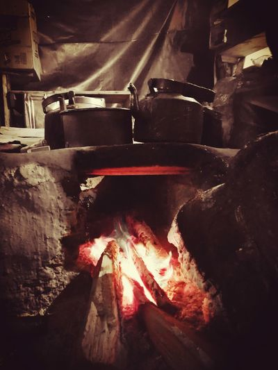 Preparing Tea on 13000ft, Himalayas Himalayas, India Breathing Space