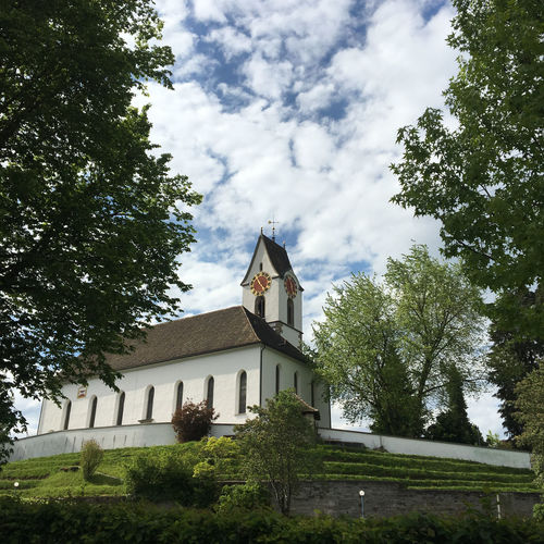 Church Architecture Built Structure Cloud - Sky Day Outdoors Sky Tree