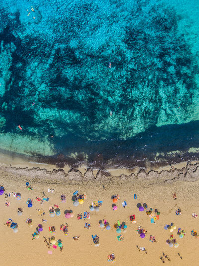 Backgrounds Beach Maditerranean Mallorca Mediterranean Sea Sand Sea SPAIN Sun Umbrella Vacations Water Perspectives On Nature