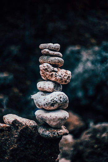 Balance Balance Close-up Nature No People Pebble Pebbles On A Beach Rock Rock - Object Stack Stone Stone - Object Stone Material Textured