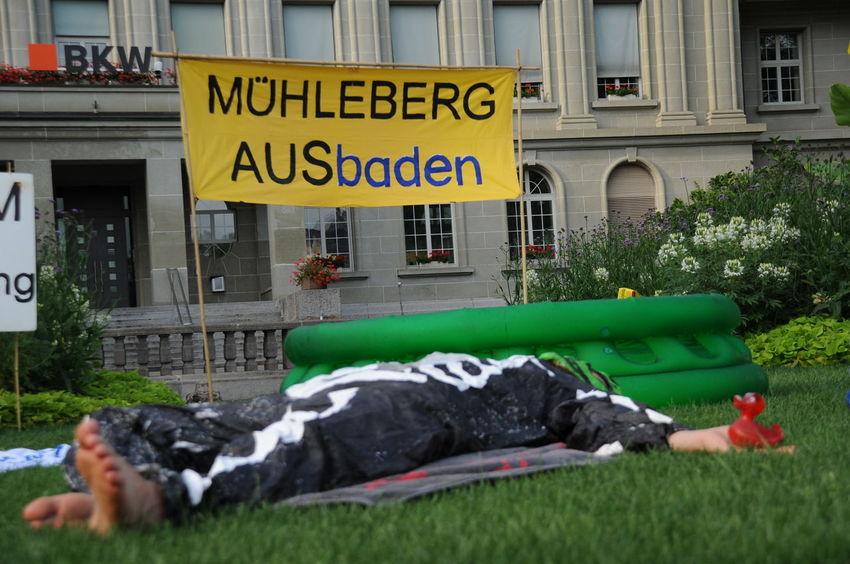AKW Bkw Day Dead Demo Demonstration Direct Action Mühleberg Nuke Outdoors Skeleton