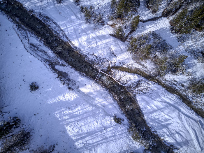 Drone  Aerial Photography Beauty In Nature Birdseyeview Cold Temperature Day Dronephotography Engadiin Engadin High Angle View Nature No People Outdoors Scenics Snow Tranquil Scene Tranquility Tree Water Winter